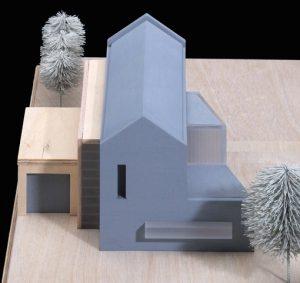 Entwurfsmodell für ein Einfamilienhaus