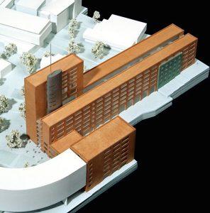 Architekturmodell zum Entwurf